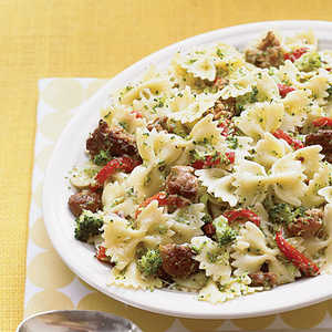 Bowties with Broccoli and SausageRecipe