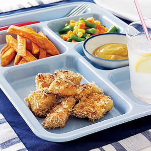 Chicken Nuggets and Sweet Fries Recipe