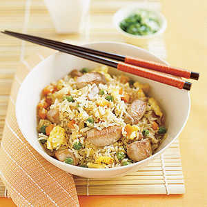 Chicken Fried Rice with VegetablesRecipe