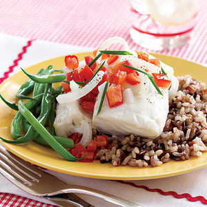 Cod Fillets with Horseradish SauceRecipe