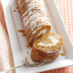 Pumpkin Cream RollRecipe