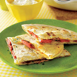 Hot Doggy QuesadillasRecipe