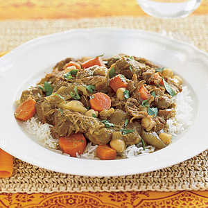Lamb Curry with Chickpeas Recipe