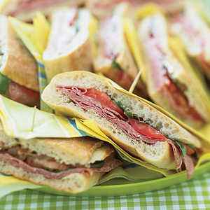Pressed Mediterranean Sandwiches Recipe