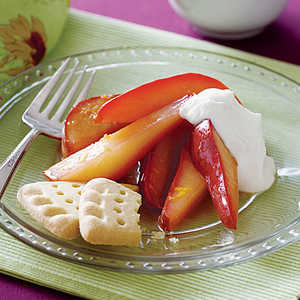 Spiced Pears with CreamRecipe