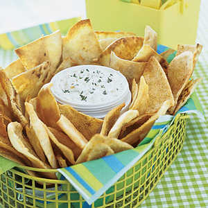 Garlic Pita ChipsRecipe