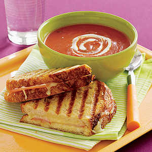 Tomato Soup and Grilled Cheese Recipe