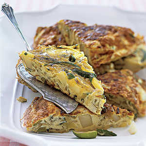 Zucchini-and-Potato FrittataRecipe