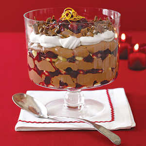 Cranberry and Chocolate TrifleRecipe
