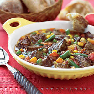 Lamb Stew with Mixed VegetablesRecipe