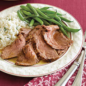 Thai-Marinated Broiled Flank SteakRecipe