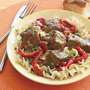 Beef Stew with PeppersRecipe