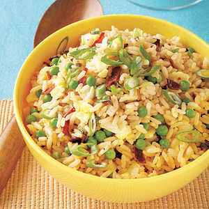 Sweet Pea Fried RiceRecipe