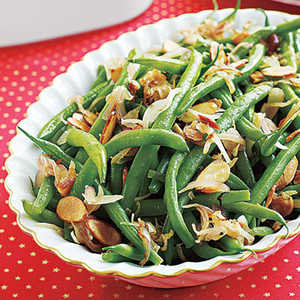 Green Beans with Shallots and AlmondsRecipe