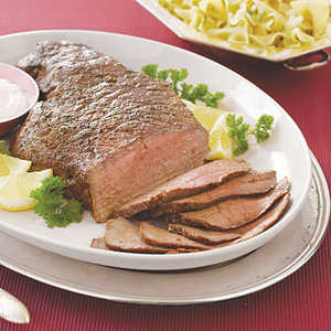 London Broil with Horseradish SauceRecipe