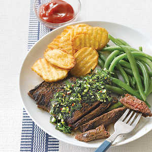 Skirt Steak with ChimichurriRecipe