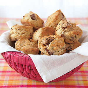 Sausage and Herb Mini BiscuitsRecipe