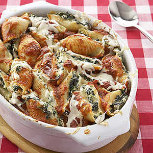 Spinach-and-Ricotta Stuffed Shells Recipe