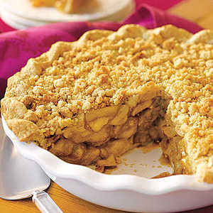 Crumb-Topped Apple Pie Recipe