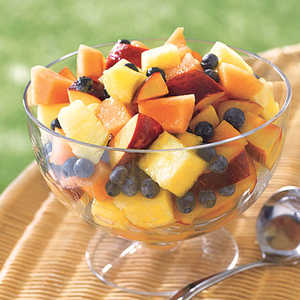 Fruit Salad with Lemon-Honey DressingRecipe