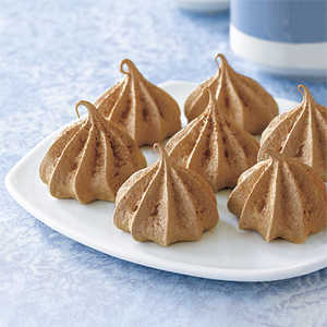 Chocolate Meringue Kisses Recipe