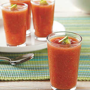 Spicy Gazpacho Shots Recipe