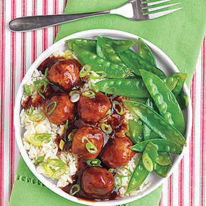 Tangy Asian Meatballs Recipe