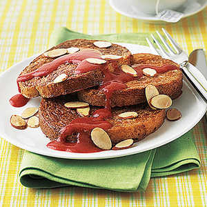 French Toast with Maple-Strawberry SauceRecipe