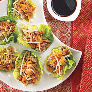 Asian Lettuce WrapsRecipe