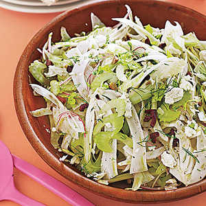 Celery-Fennel Salad with Olives Recipe