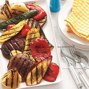 Citrus-Herb Grilled VegetablesRecipe