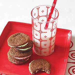Chocolate-Mint Sandwich Cookies Recipe