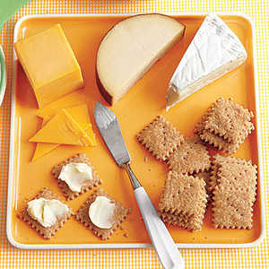 Mini Cheese Crackers Recipe