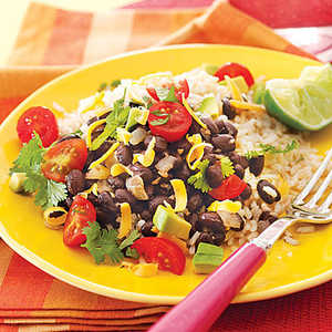 Black Beans and RiceRecipe