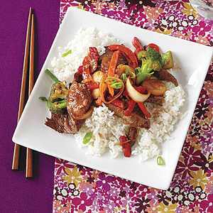 Asian Ginger BeefRecipe