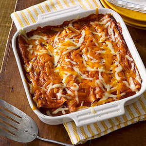 Vegetable and Pinto Bean EnchiladasRecipe