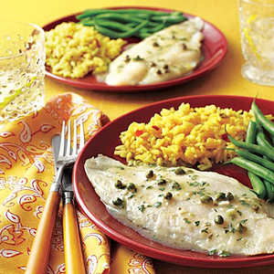 Baked Herbed Fish Fillets Recipe