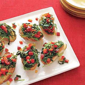 Bruschetta with Peppers and PepperoniRecipe