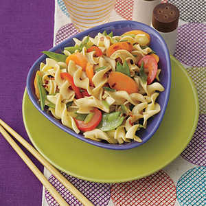 Stir-Fried Egg Noodles with VegetablesRecipe