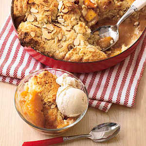 Skillet Peach Cobbler Recipe