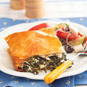 Spinach and Feta PieRecipe