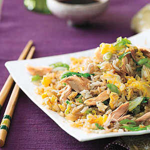 Chicken-and-Cabbage Fried RiceRecipe