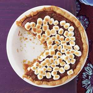 Sweet Potato Pie with Marshmallow Topping Recipe