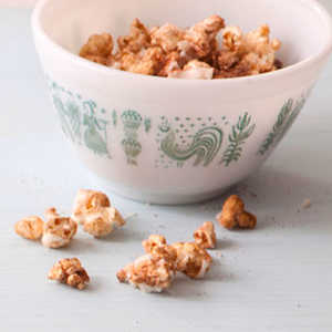 Chili-Garlic PopcornRecipe