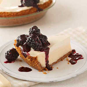 Cheesecake with Sour Cream ToppingRecipe
