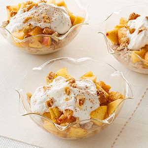Peach Oatmeal Yogurt Parfait Recipe