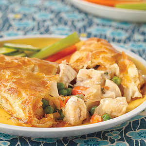 Chicken Potpie PocketsRecipe