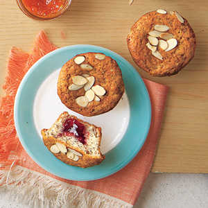 Jam-Filled Poppy-Seed MuffinsRecipe