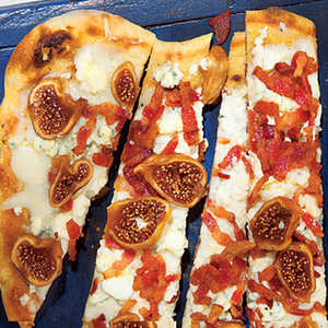 Bacon, Blue Cheese and Fig Pizza Recipe