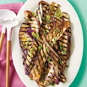 Grilled Eggplant with Yogurt Sauce Recipe